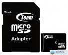 8GB microSDHC TeamGroup CL10 + adapter (TUSDH8GCL1003)