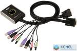 ATEN KVM Switch 2PC USB DVI + kábel  /CS-682/