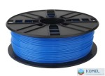 Gembird ABS filament 1.75mm, 1kg fluoreszkáló kék /3DP-ABS1.75-01-FB/
