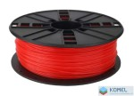 Gembird ABS filament 1.75mm, 1kg piros /3DP-ABS1.75-01-FR/