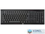 HP K2500 vezeték nélküli billentyűzet fekete /E5E78AA/