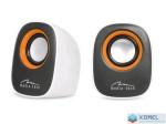 Media-Tech MT3137W 2.0 IBO hangszóró USB