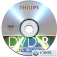 Philips DVD-R 4.7GB 16X DVD lemez