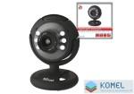 Trust 16428 Spotlight Webcam Pro - fekete