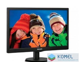 """19"""" Philips 193V5LSB2/10 LED monitor fekete"""