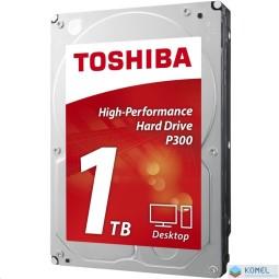 """1TB Toshiba 3.5"""" P300 SATAIII winchester OEM (HDWD110UZSVA)"""