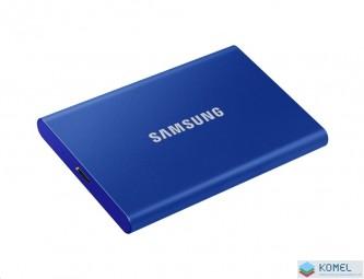 500GB Samsung T7 külső SSD meghajtó kék (MU-PC500H)