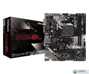 ASRock B450M-HDV R4.0 alaplap (90-MXB9N0-A0UAYZ)