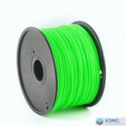 Gembird ABS filament 1.75mm, 1kg zöld (3DP-ABS1.75-01-G)