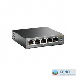 TP-Link TL-SG1005P 10/100/1000Mbps 5 portos mini switch
