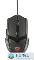 Trust GXT 101 Gav Gaming optikai egér fekete USB (21044)